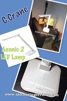 2 Ladies & a Hammer ~ C. Crane Aeonic 2 LED Lamp {Review & Giveaway ~ US only}