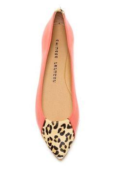 Chinese Laundry leopard toe