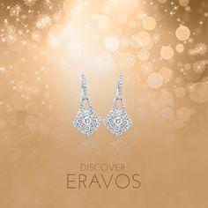This season, fall in love with these beautiful Royalis diamond earrings, available at www.eravos.com 💞💎   Esta temporada, enamórala con estos bellos pendientes de diamantes Royalis, disponibles en www.eravos.com 💞