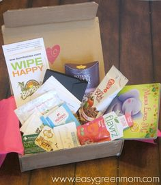 ecocentric mom box | Ecocentric Mom & Baby Subscription Box ~ February 2015