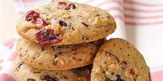 Cookies aux fruits rouges
