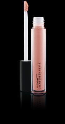 The perfect nude gloss. MAC Cremesheen Glass - Fashion Whim...my husband says my lips taste like cake batter when I wear this...lol