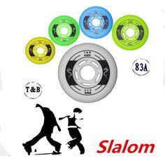 Professional Slalom 83A Inline Skate Wheels 80mm 76mm 72mm for SEBA HV IGOR KSJ RB Powerslide Roller Skates Wheel