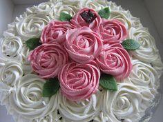 Min hverdagskos: Rose swirls / Rose kake