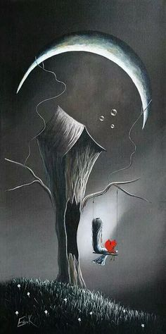 At night I tell the moon all about you.