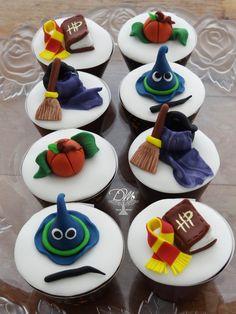 Cupcakes Tema Harry Porter