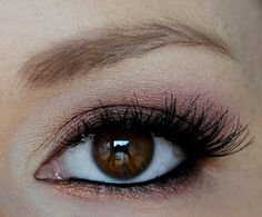 coppery pink and bronze tutorial