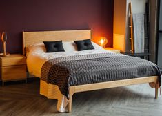 The elegant Camden bed - exclusive design, handmade by Natural Bed Company