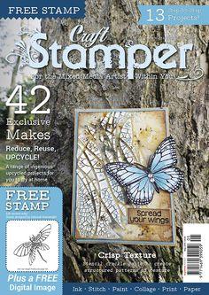 Craft Stamper Magazin Mai 2018 www.papercrafts.ch