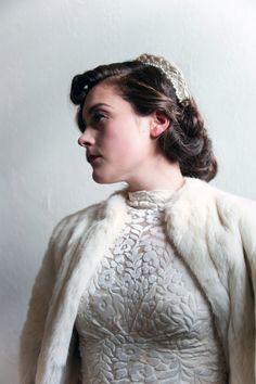 An original 1940s Vintage Weding Dress from Abigail's Vintage | Love My Dress® UK Wedding Blog