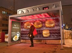 Amazing bus stops where advertising is part of your environment
