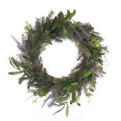 Foliage Lit Wreath