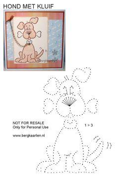 Z toho by byla pěkná pohlednice :-) Embroidery Cards, Embroidery Patterns, Card Patterns, Stitch Patterns, Paper Piercing Patterns, Stitching On Paper, Dog Quilts, String Art Patterns, Sewing Cards