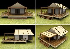 building a wooden platform for a camping tent base - Google Search