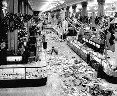 1948......after Christmas shopping rush