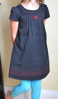 Oliver + S Family Reunion Dress by Mel O 13, via Flickr