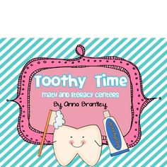 This dental health themed center packet is full of fun! It includes 12 hands-on centers that reinforce important first grade standards. Each center...