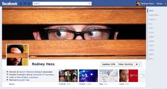 creative #facebook timeline cover (Private Profile)
