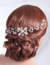 Fantastiques accessoires pour la mariée, perles et cristal