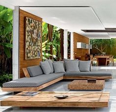 100 Modern Living Room Interior Design Ideas https://www.futuristarchitecture.com/3699-modern-living-rooms.html #livingroom