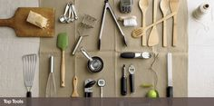 Basic gadgets from Crate and Barrel