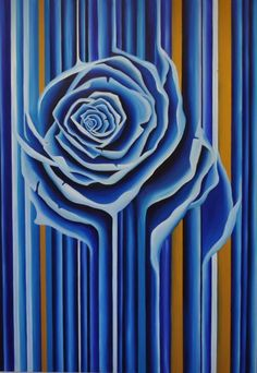 Gus Harper. Oil and Canvas Rose