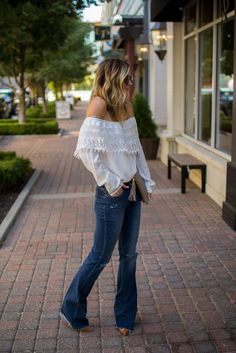 Romantic Ruffles Oversized ScarfFlares and Lace