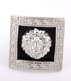 Checkout our #arrascreations product Rihanna Style Lion Head Stretch Ring - Free Size - Silver / AZRIFR049-SIL. Buy now at http://www.arrascreations.com/rihanna-style-lion-head-stretch-ring-free-size-silver-azrifr049-sil.html