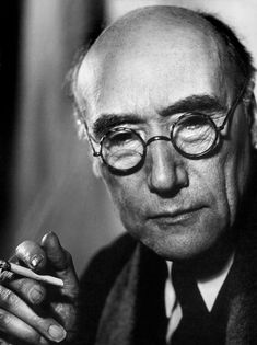 André Gide (1869-1951) - French author and winner of the Nobel Prize Literature 1947. Photo by Philippe Halsman, Paris 1935