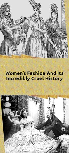 Believe it or not, the history of women's fashion gets much worse than the polyester culotte -- a look at the staggeringly cruel history of women's fashion. Boudoir Photography, Couple Photography, Landscape Photography, Nature Photography, Animals Beautiful, Cute Animals, Bizarre Photos, Angelina Jolie Photos, Hand Crafts
