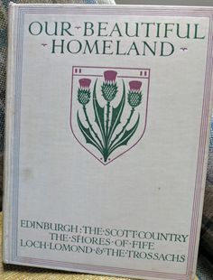 Our Beautiful Homeland Two volumes colour plates in each volume. Homeland, Plates, Colour, Books, Beautiful, Licence Plates, Color, Dishes, Libros