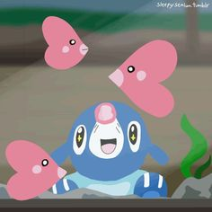 Pretty much a Popplio-a-day blog All Pokemon Games, Pokemon Gif, Pokemon Moon, First Pokemon, Pokemon Images, Pokemon Fan Art, Cute Pokemon Pictures, Cute Pictures, Pokemon Starters