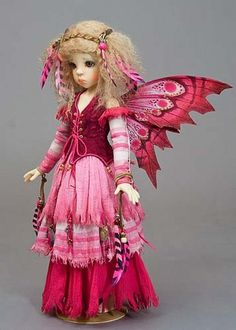 Ruby, a forest fairy