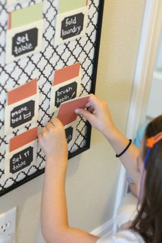 IHeart Organizing: UHeart Organizing: Children's Chore Charts