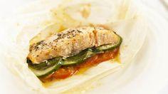 Salmon en papillote - RTE Food