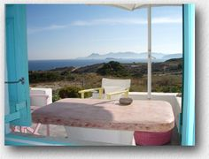 milos greece studios apartments >> External apartment view