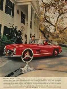 1959 Mercedes Benz 300SL Roadster Ad