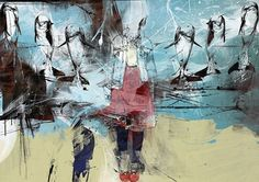 Kai Fine Art is an art website, shows painting and illustration works all over the world. Russell Mills, English Artists, British Artists, Pop Surrealism, Freelance Illustrator, Cool Stuff, All Art, Graphic Art, Contemporary Art