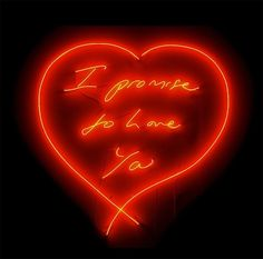 Tracey Emin love. #traceyemin http://www.widewalls.ch/artist/tracey-emin/