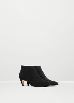 Kitten heel ankle boots - Shoes for Woman | MANGO Serbia