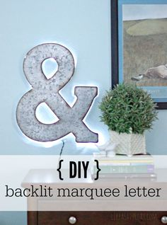 How Japanese Interior Layout Could Boost Your Dwelling Diy Illuminated Marquee Letter - It Only Took Me 10 Minutes And Cost 15 Design Crafts, Decor Crafts, Home Crafts, Fun Crafts, Diy And Crafts, Marquee Letters, Diy Letters, Homemade Scented Candles, Backlit Signs
