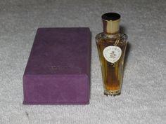 Vintage Guerlain Shalimar Perfume Bottle/Boxes OZ - ML Sealed - Full Bottle Box, Seal, Perfume Bottles, Boxes, Vintage, Architecture, Vintage Perfume, Ornaments, Perfume Bottle
