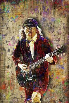 Pyramid America Bob Marley One Good Thing About Music, Music Slim Poster Print, 12 by Music Wall Art, Angus Young, Young Art, Rock And Roll Bands, Portraits, Guitar Art, Rock Art, Black Metal, Hard Rock