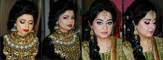Makeup by Naila tausif Gold Jewellery Design, Gold Jewelry, Jewelery, Beautiful Mehndi, Most Beautiful, Party Makeup, Sequin Skirt, Brides, Beauty