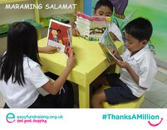 """""""ThanksAMillion to all our lovely supporters who shop online via @easyuk."""" #Fundraising #Giving #Charity"""