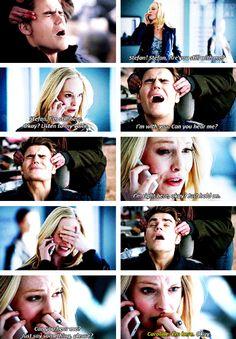 Caroline and Stefan in 5x17 'Rescue Me' {by Paria}