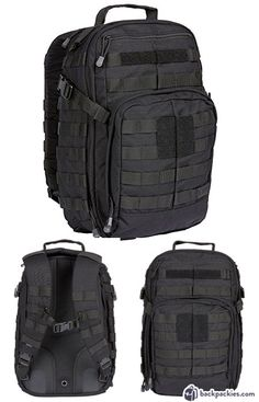 5.11 Rush 12 Tactical Backpack - GoRuck GR1 Alternative - Learn more at backpackies.com