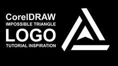 CorelDRAW: How to design a impossible logo triangle ( inspiration tutori...