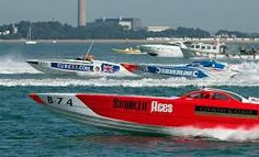 "Smokin Aces, Silverline & Cube 52 - Thrilling ""On the Water"" spectating with The Salamander Sailing Adventure Cowes Torquay Cowes Spectator Boat – See the Cowes Torquay Cowes Classic Offshore Powerboat Race with The Salamander Sailing Adventure . Next race 2nd – 4th September 2016 http://www.thesalamandersailingadventure.com/#!cowes-torquay-powerboat-race/mfzi9 – Photo: Tim Tapping"