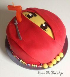 Lego Birthday, Birthday Parties, Birthday Cake, Lego Ninjago, Decors Pate A Sucre, Ninja Cake, Cupcake Cakes, Wedding Cakes, Birthdays